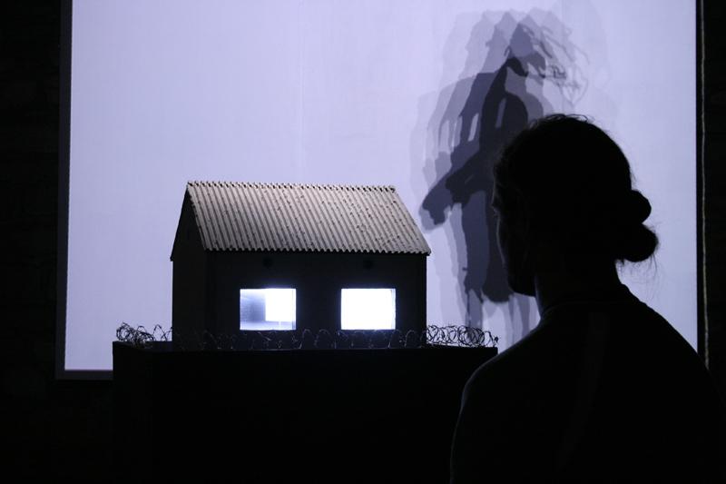 reportage photographique exposition Art video