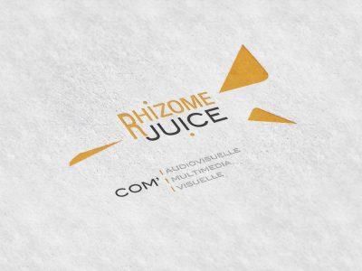 Logo rhizome juice
